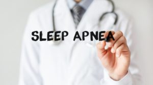 sleep apnea concept